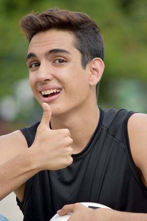 Happy Sporty Person Banco de Imagens - 92704064