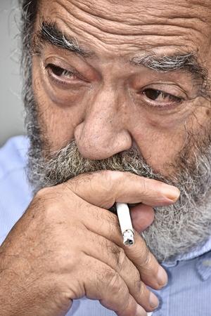 Colombian Male Smoking