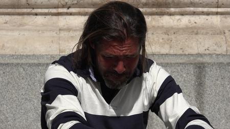 Male And Hopelessness Banco de Imagens