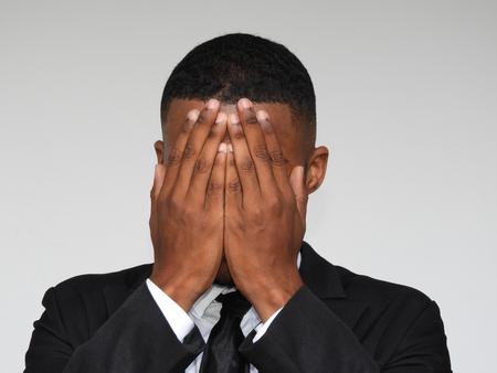Business Male And Hopelessness Banco de Imagens
