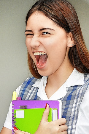 Mad Female Student