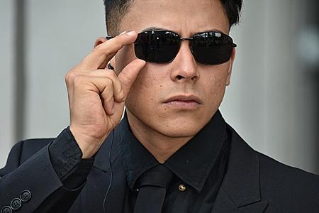 Mib Men In Black Or Fbi Agent Banco de Imagens