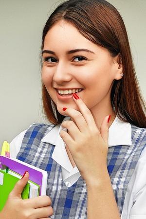 Flirty Girl Student