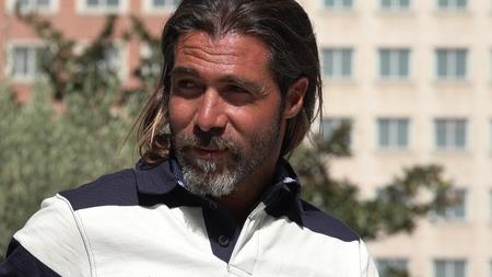 Male With Beard