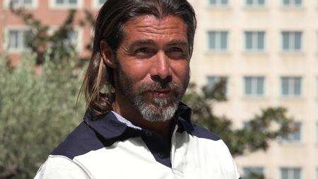 Urban Handsome Male 写真素材
