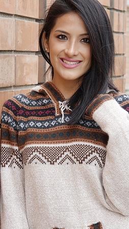 Happy Peruvian Woman