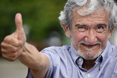 Happy Retired Grandpa