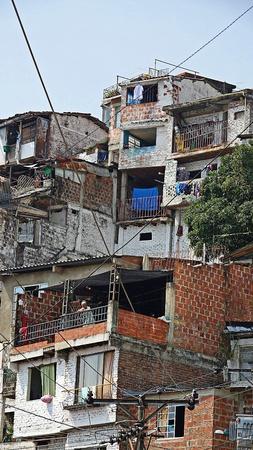 Latin American Houses And Barrio 報道画像