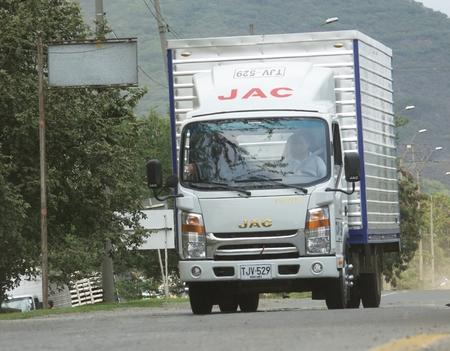 Truck On Rural Road