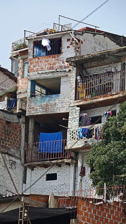South American Homes In Barrio