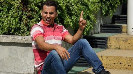 Creative Latino Male Stock fotó