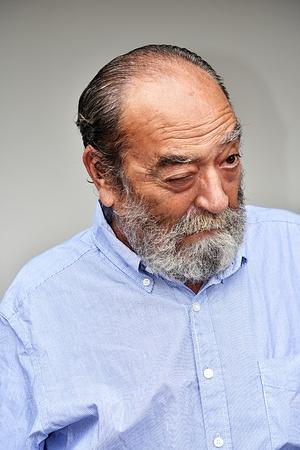 Senior Male Winking Stock fotó