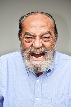 fou grand-père mâle hispanique