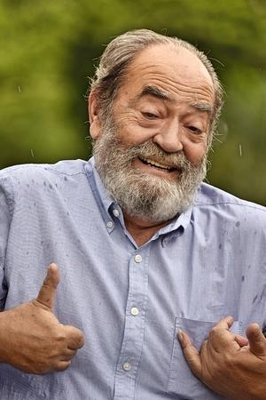 Goofy Colombian Grampa