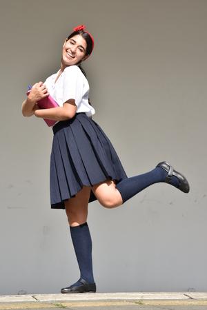 Adorable Cute Person 免版税图像