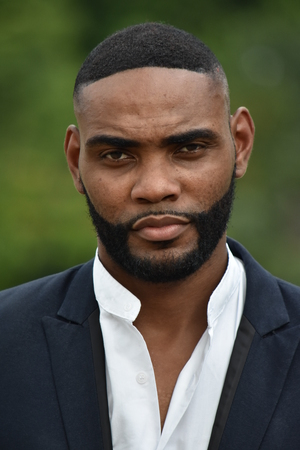 Serious African Male