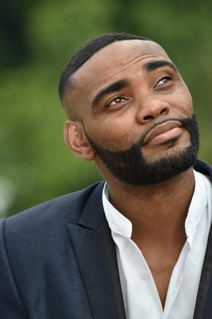 Wondering Black Male