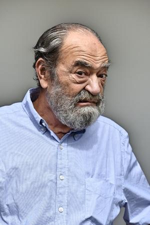 Old Male Portrait Stok Fotoğraf