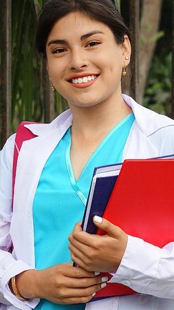 Student Nurse Latina Teenager