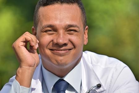 Male Surgeon Portrait