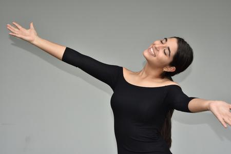 Minority Female Dancing