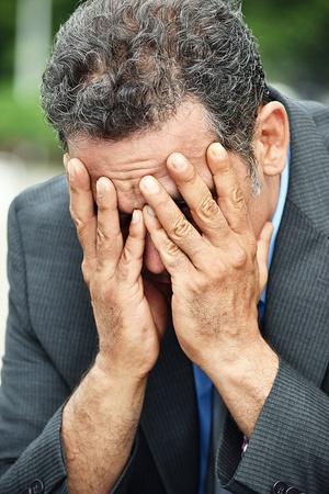 Businessman And Hopelessness Stock fotó