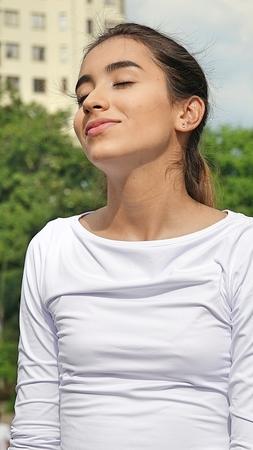 Teen Female Daydreaming