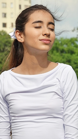 Daydreaming Pretty Girl