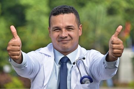 Successful Male Surgeon