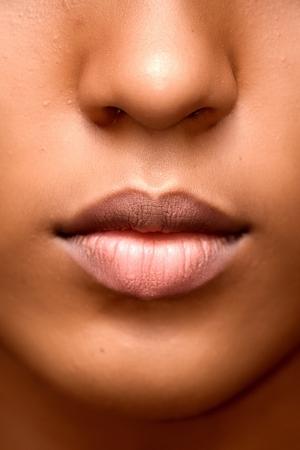 Beautiful Female Mouth
