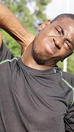 Sore Male Athlete
