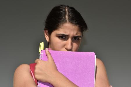 Fearful Female Student