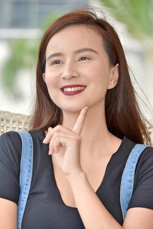 Filipina Female Deciding