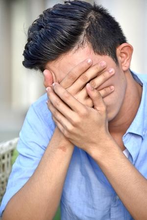 Shameful Male Man