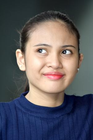 Smirking Filipina Female