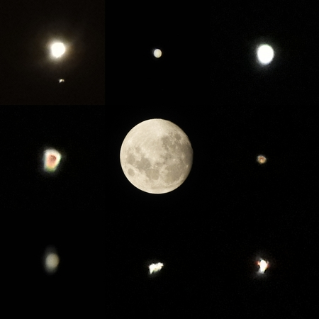 Moon Stars And Outerspace Astronomy