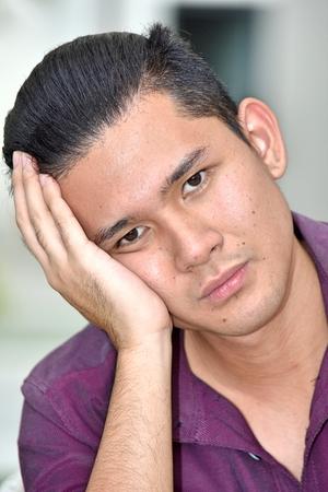 Minority Male Portrait Stok Fotoğraf