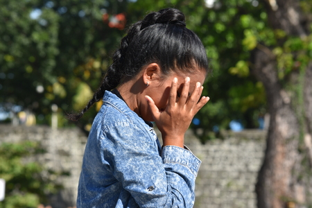 Youthful Filipina Adult Female And Failure Stok Fotoğraf - 111262417