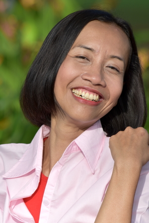 Happy Youthful Person 免版税图像