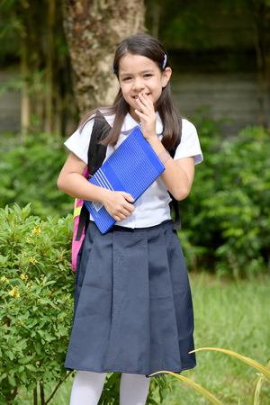 Shy Student Child