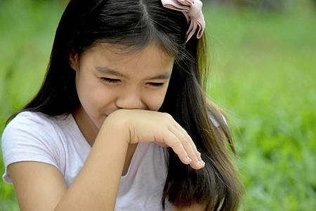 Petite Diverse Female And Sadness