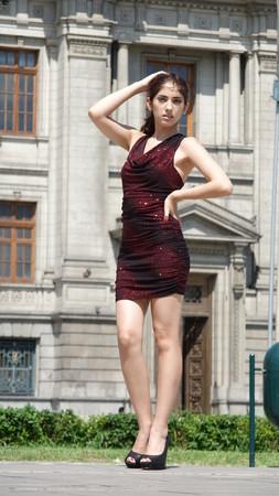 Posing Diverse Female Standing