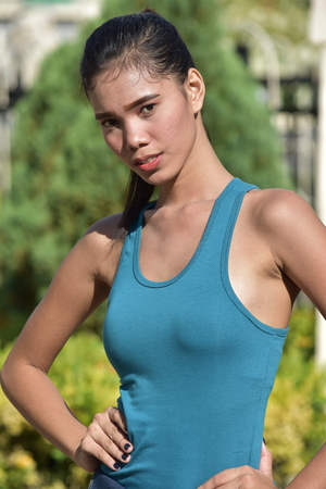 Portrait Of A Minority Adult Female