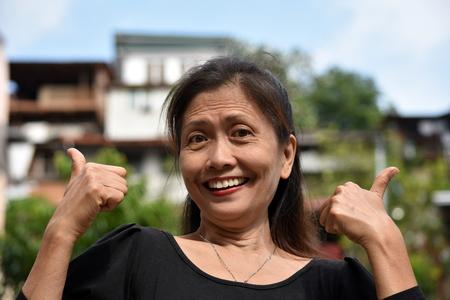 Proud Female Senior