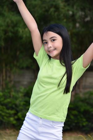 Dancing Asian Female