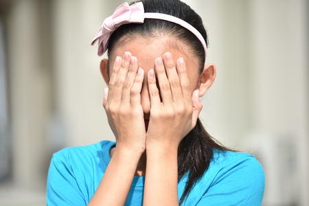 Shameful Female Youngster