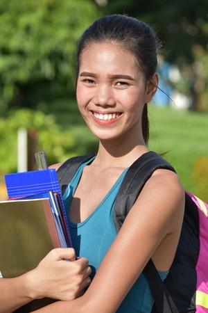 Student And Happiness Reklamní fotografie