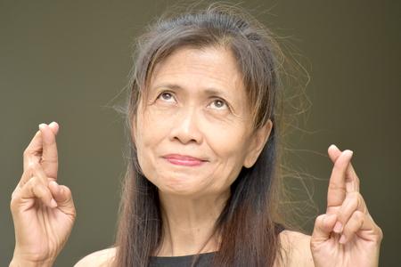 Fortunate Retired Minority Female Senior