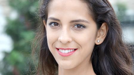 Smiling Peruvian Female