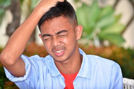 Boy Under Stress